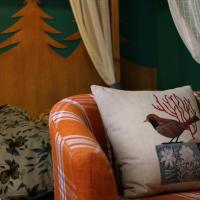 Double Room with Green Color Decoration Style (201/301/401)
