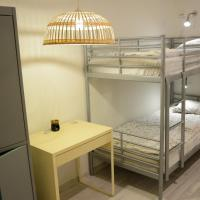 Bed in 6-Bed Dormitory Room Without Windows