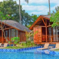 One-Bedroom Cottage Pool Lagoon