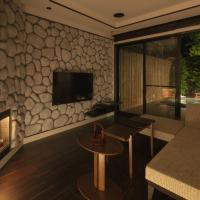 Modern Twin Room with Private Open-Air Bath - GEKKYO