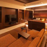 Modern Twin Room with Private Open-Air Bath - SENKA