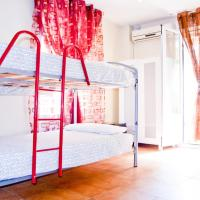 Single Bed in 8-Bed Dormitory Room with Bathroom