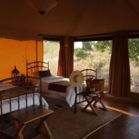 Tent with Twin Beds