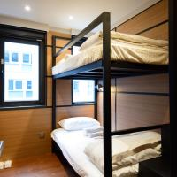 Bunk Room with Shared Bathroom