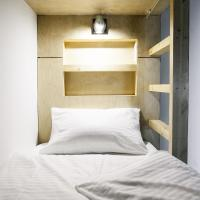 Double Bed in 6-Bed Dormitory Room
