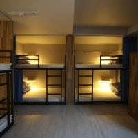 Bed in 8-Bed Male Dormitory Room