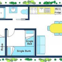 Three-Bedroom Family Cabin