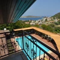 Rooftop Balcony Room with Sea and Pool view