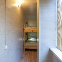 Bed in Economy Room with Bunk Bed with Balcony