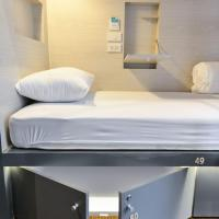 Single Bed Cube Side Entry in Mixed Dormitory