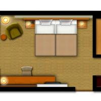 Standard Double Room - Main Building