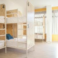 Bed in 14-Bed Male Dormitory Room