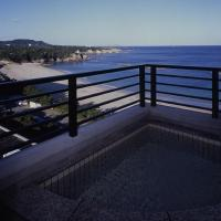 Japanese-Style Room with Open-Air Bath and Sea View