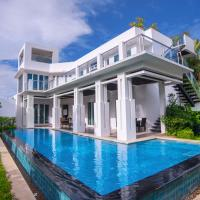 Four-Bedroom Villa with Private Pool and Spa Bath