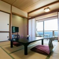 Japanese-Style Twin Room with Sea View