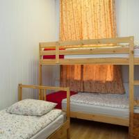Double Room with Bunk Bed and Shared Bathroom