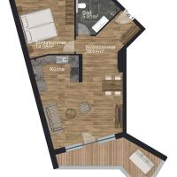 Comfort Apartment with Terrace