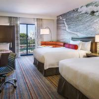Two Queen Beds with Twin Bunk Bed and Balcony - Disney Resort View
