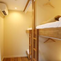 Double Bunk Bed in 4-Bed Mixed Dormitory Room
