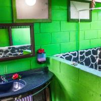 Open Samoan Fale with Shared Bathroom