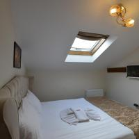 Attic Room with Glass Ceiling