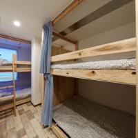 Quadruple Room with Two Bunk Beds and Shared Bathroom