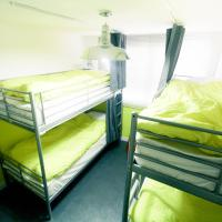 Bed in 4-Bed Female Dormitory Room(Room yellow)
