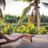 Palm Garden With Lake View Villa