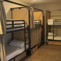 Bed in a 6-Bed Mixed Dormitory Room with Shared Bathroom