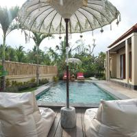 Natural Rice Field One-Bedroom Villa with Pool View