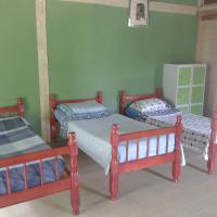 Bed in 8-Bed Mixed Dormitory Room with Mountain View