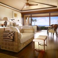 Prime Ocean Front Room with Two Double Beds