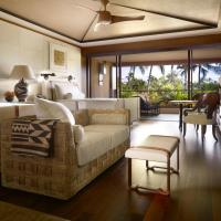Partial Ocean View Room with Two Double Beds