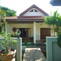 Two-Bedroom Bungalow with Garden View