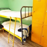 Bed in Mixed Dormitory Room with Shared Bathroom