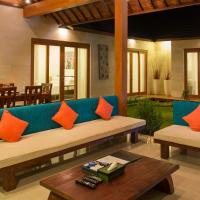 Three-Bedroom Villa with Private Pool and Garden