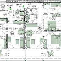 Three-Bedroom Apartment with Balcony - Annex