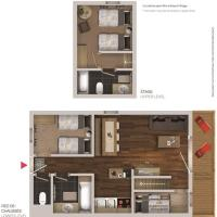 Two-Bedroom Duplex Apartment (6 Adults)