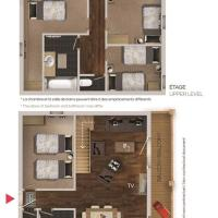 Duplex 4- Bedroom Apartment (8 Adults)