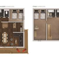 Duplex 5-Bedroom Apartment (10 Adults)