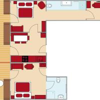 Holiday Apartment (5-7 Adults)