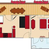 Holiday Apartment (2-4 Adults)