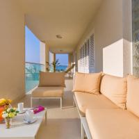 Deluxe Three-Bedroom Apartment with Terrace and Partial Sea View