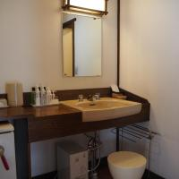 Room with Tatami Area and Shared Bathroom