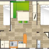 Mobile Home (6 persons)