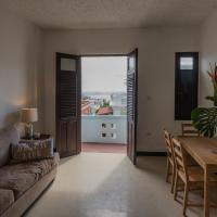 one bedroom apartment with bay view