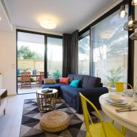 Four-Bedroom Apartment with Private Garden
