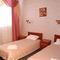 Budget Double Room with Two Beds and Window
