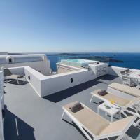 Two Bedroom Villa with outdoor Plunge Pool and Caldera View