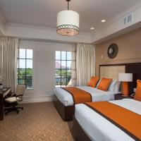 Premier Queen Room with Two Queen Beds - Disability Access with Roll-In Shower